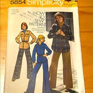 Vintage patterns from 1973